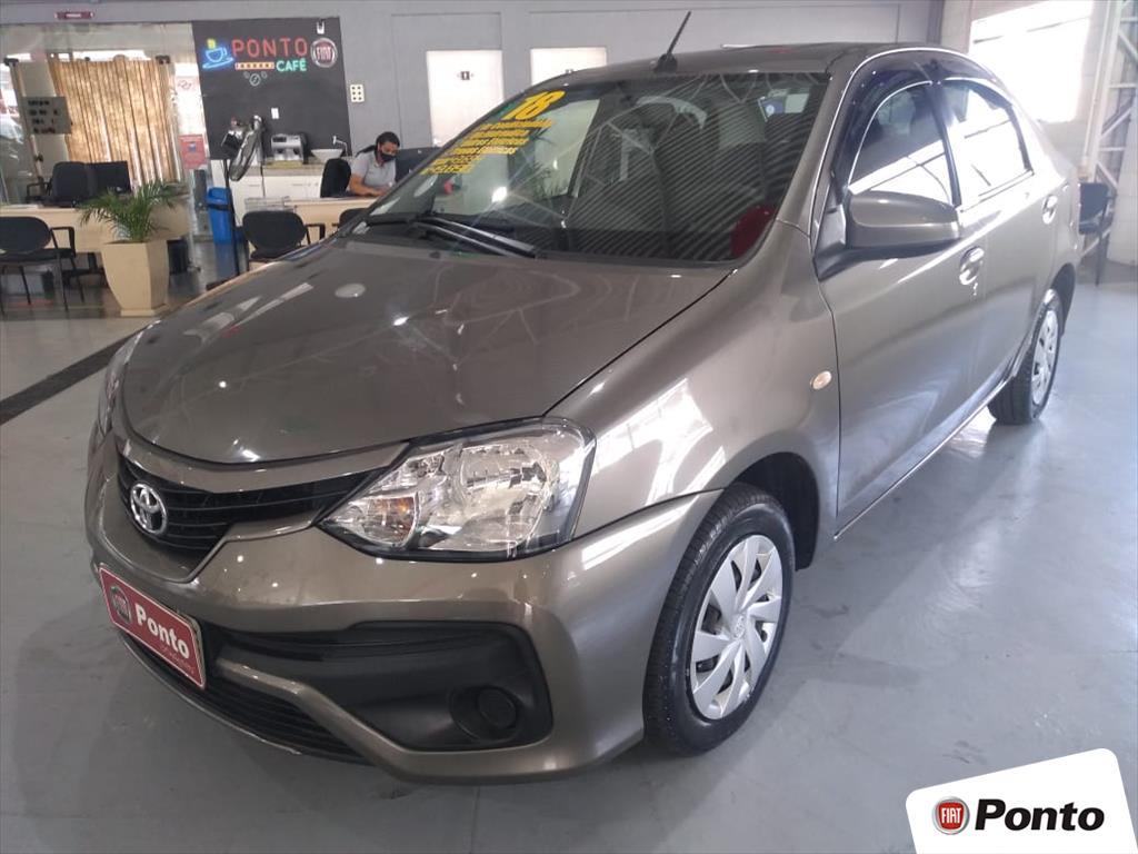 TOYOTA ETIOS 2018 - 1.5 XS SEDAN 16V FLEX 4P AUTOMÁTICO