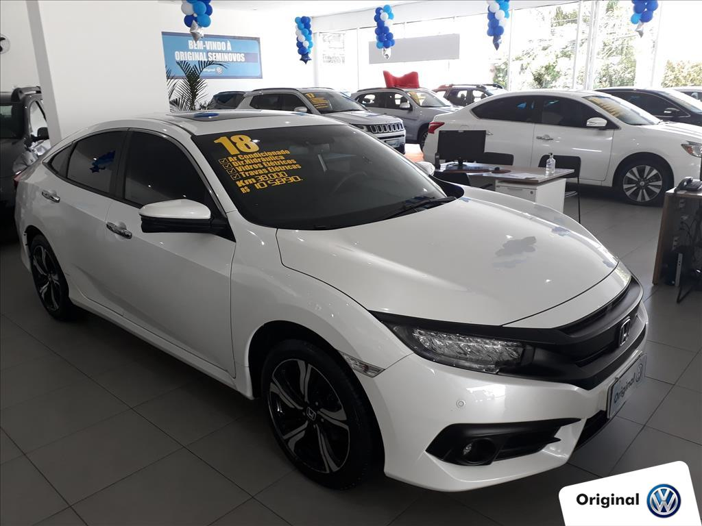 HONDA CIVIC 2018 - 1.5 16V TURBO GASOLINA TOURING 4P CVT