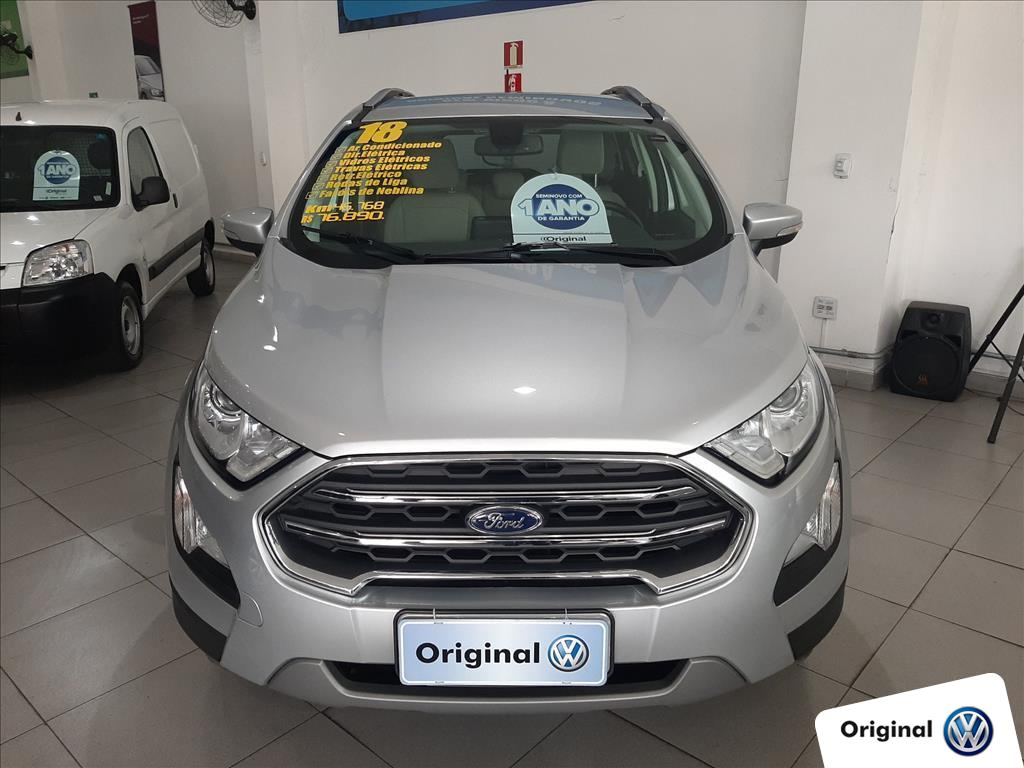 FORD ECOSPORT 2018 - 2.0 DIRECT FLEX TITANIUM AUTOMÁTICO