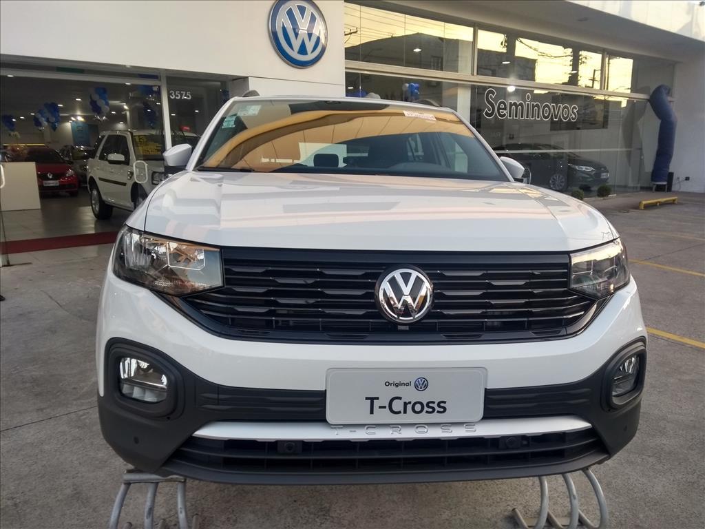 VOLKSWAGEN T-CROSS 2020 - 1.0 200 TSI TOTAL FLEX AUTOMÁTICO
