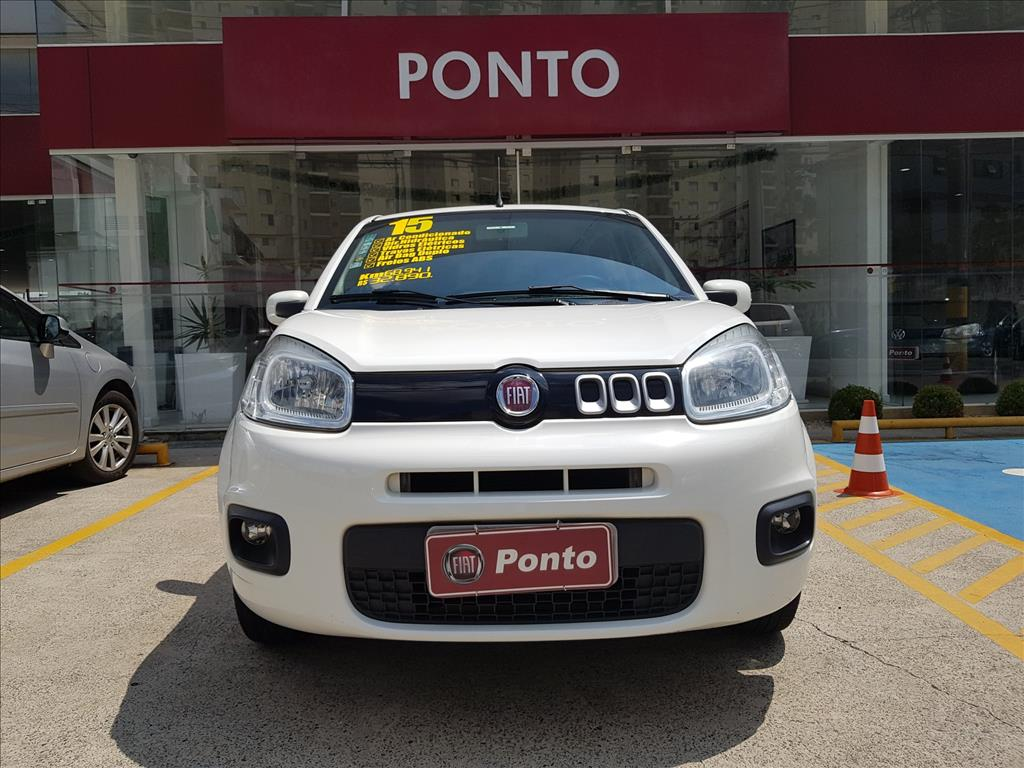 FIAT UNO 2015 - 1.4 EVO EVOLUTION 8V FLEX 4P MANUAL