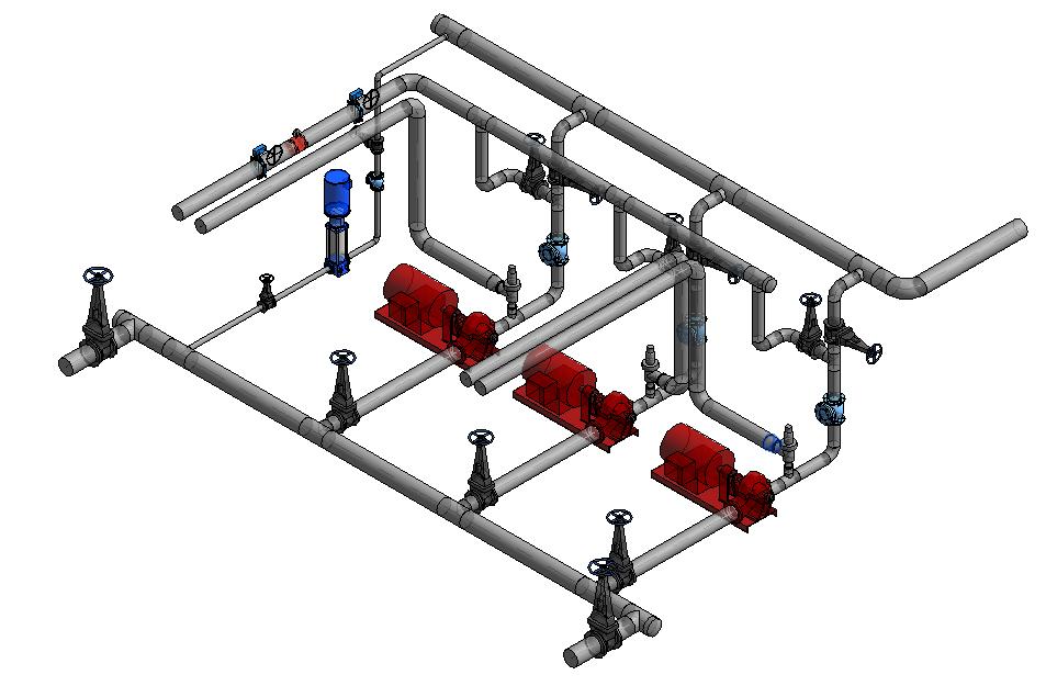 diagram of a pump s