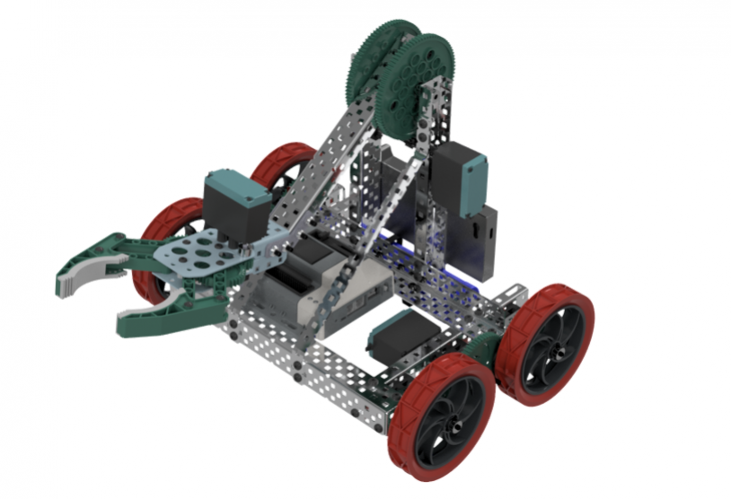 Fusion 360 Design And Customize A Vex Edr Clawbot