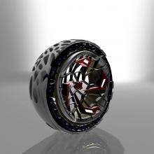 Voronoi X-wheel