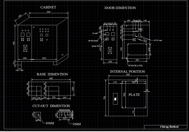 fabrication drawing of electrical panel rh academy autodesk com drawing electrical panels drawing electrical panels