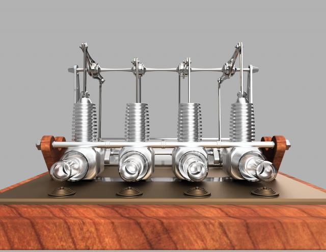 Stirling engine for Decor 9 stirling