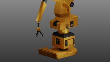 Autocad 3d robot