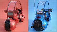 Capsule 9 Bike (Red and Blue)