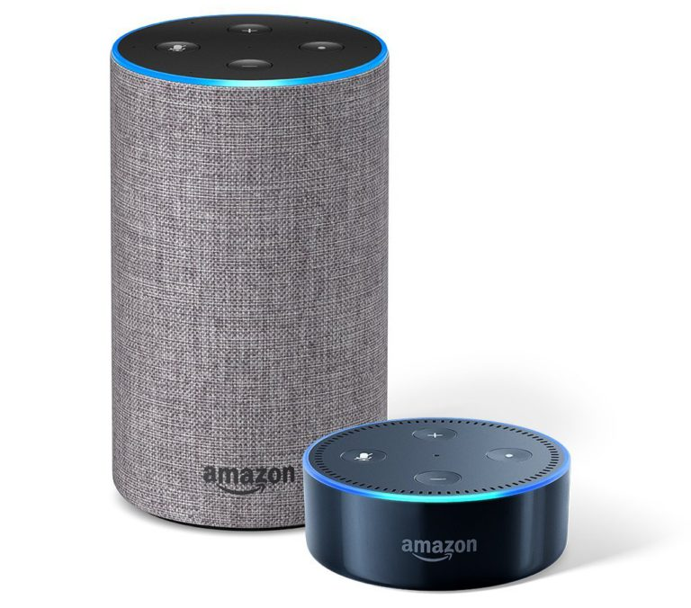 Amazon Echo and Echo Dot with Alexa