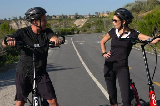 Dr. and Mrs. Guinea Pig Try out the ElliptiGO Elliptical Bike