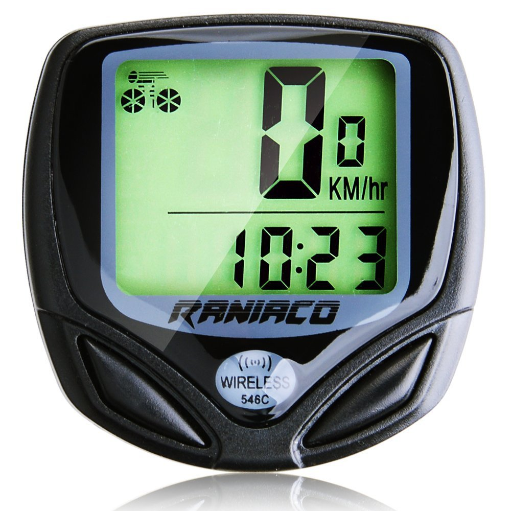 Raniaco Wireless Bicycle Multi-Function Computer (Speedometer, Odometer, and More)