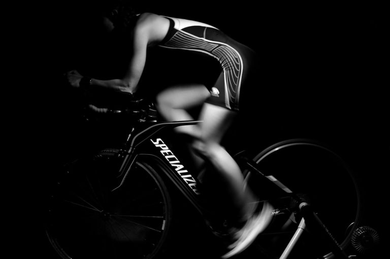 Bicycle Racing or Workout