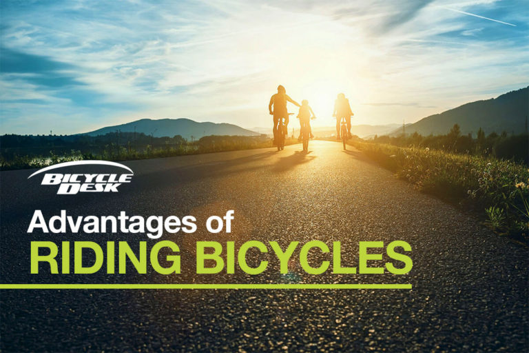 Advantages of Riding Bicycles