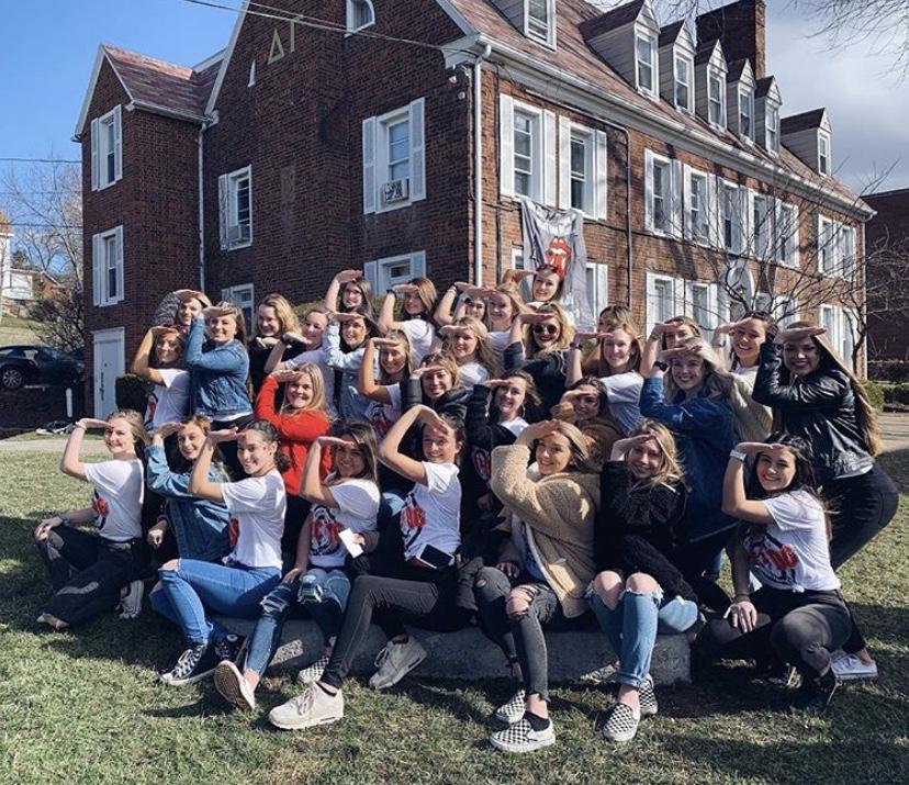 West Virginia University Address >> Home Delta Gamma At West Virginia University