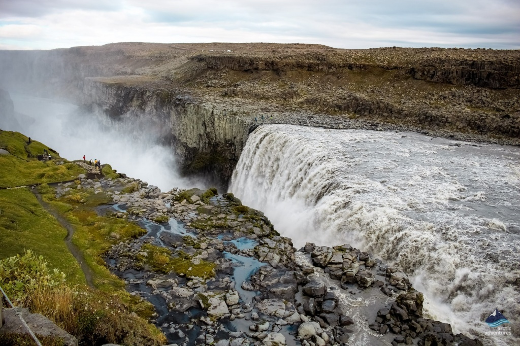 Dettifoss Waterfall North of Iceland