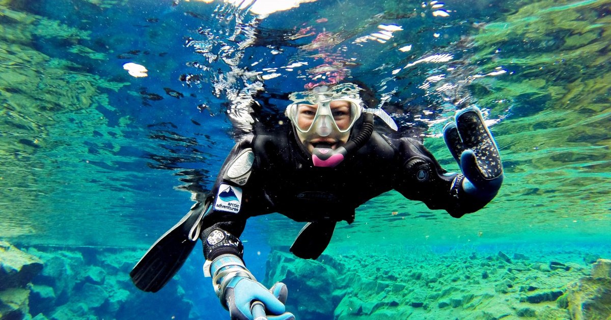 Best Of Snorkeling In Silfra On Instagram All About Iceland