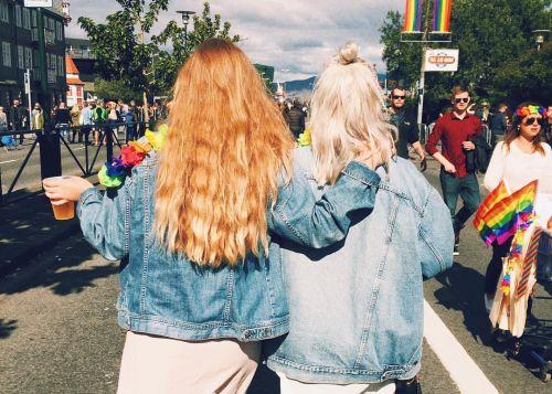 Icelandic girls in Reykjavík