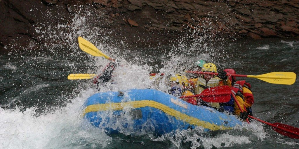River Rafting North Iceland