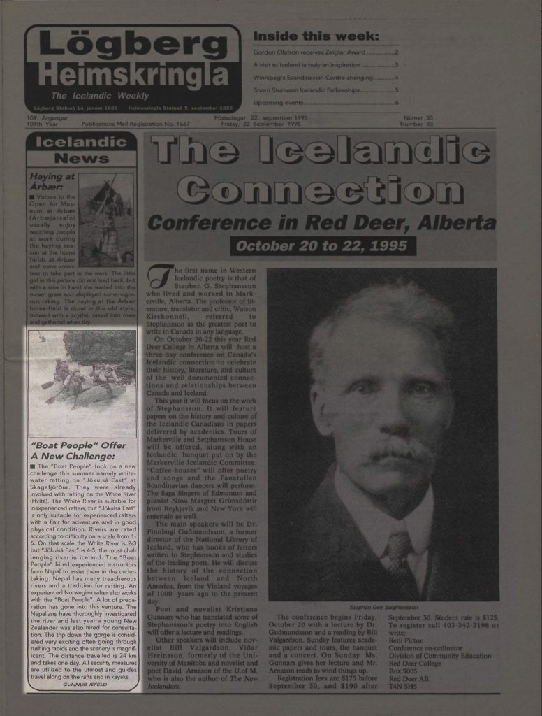 News article about Iceland Rafting
