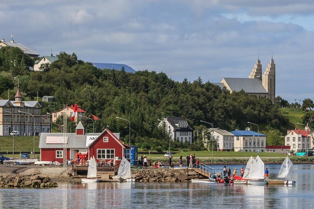 Akureyri capital of the North of Iceland