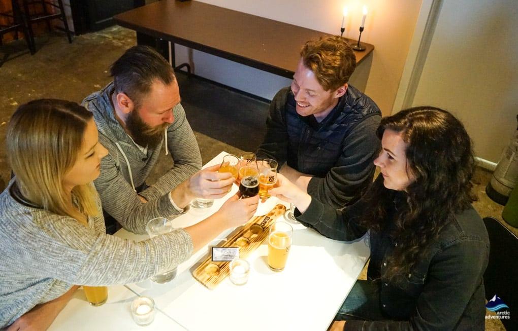 dinner and drinks in reykjavik