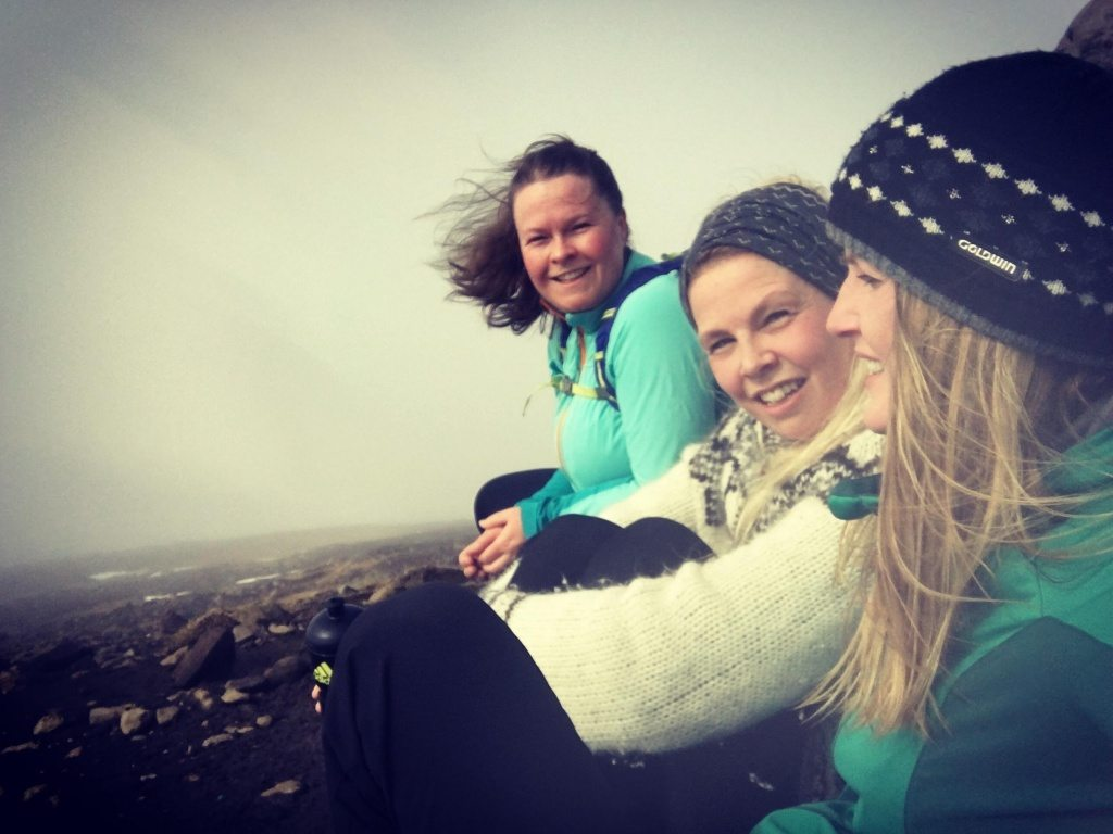 Selfie with friends - Iceland