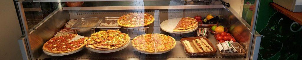 Deli pizza Bankastraeti Reykjavik