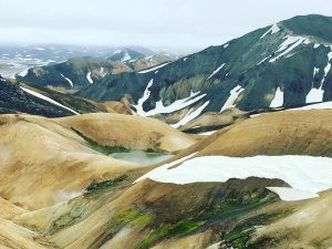 Landmannalaugar-Icelandic-highlands Tour with arcitc adventures in June, great fun for family holidays