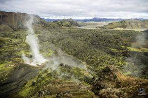 Landmannalaugar-laugavegur-trek-hiking-Iceland-arctic adventures lava moss