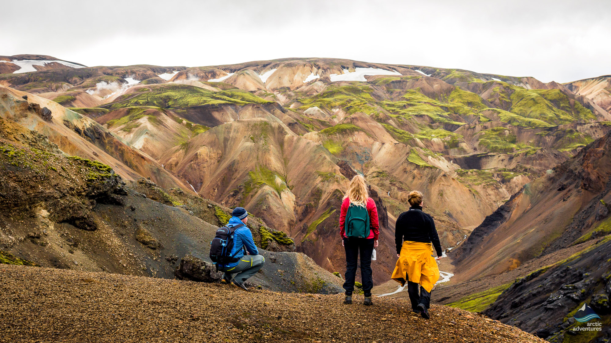 Landmannalaugar Hiking & Hot Spring Day Tour