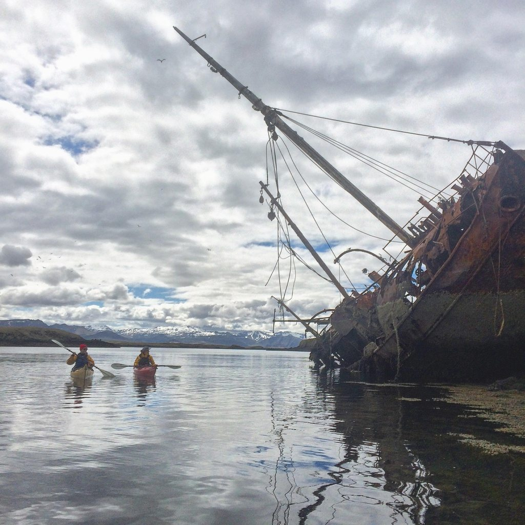 stykkisholmur-kayaking
