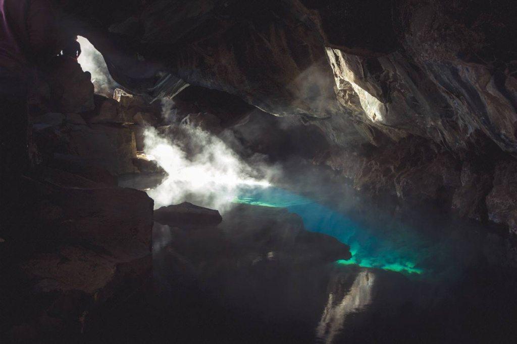 Grotagja cave Iceland