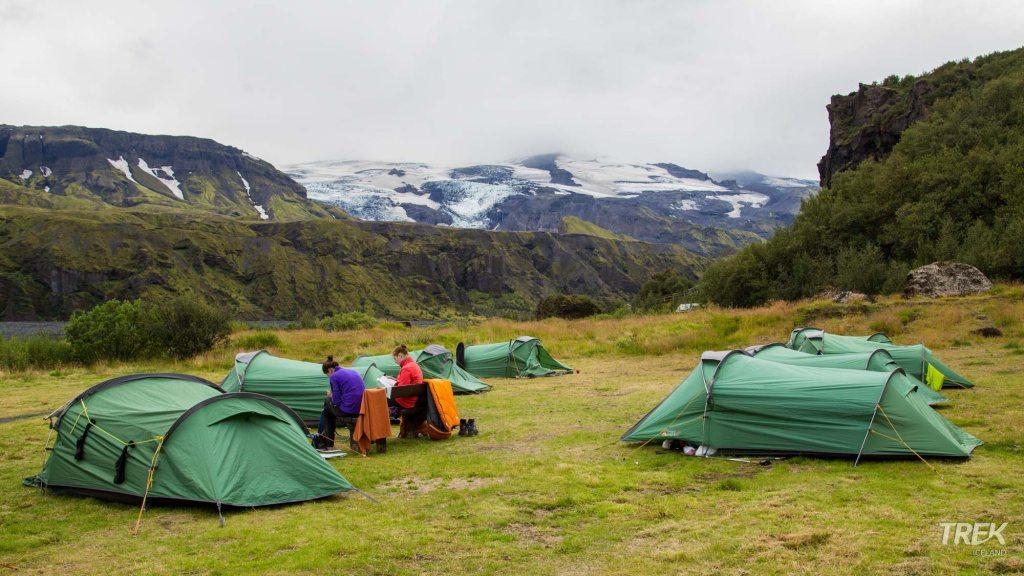 thorsmork campsite