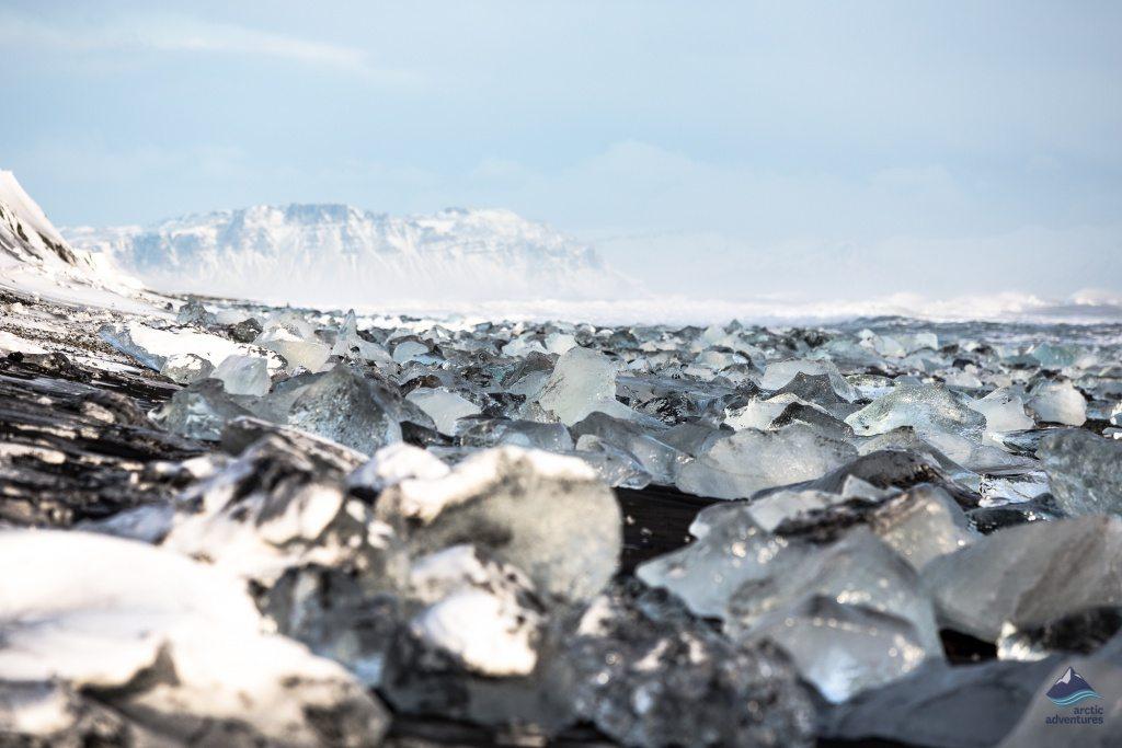 Diamond Beach Jokulsarlon Glacier Lagoon Iceland