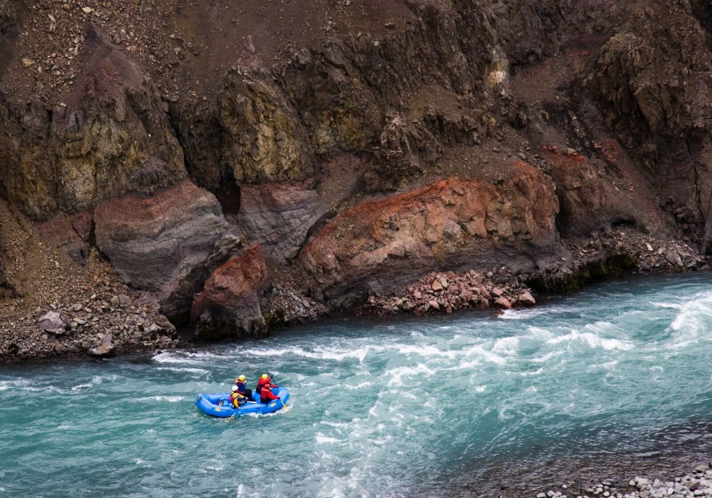 white water rafting in north iceland
