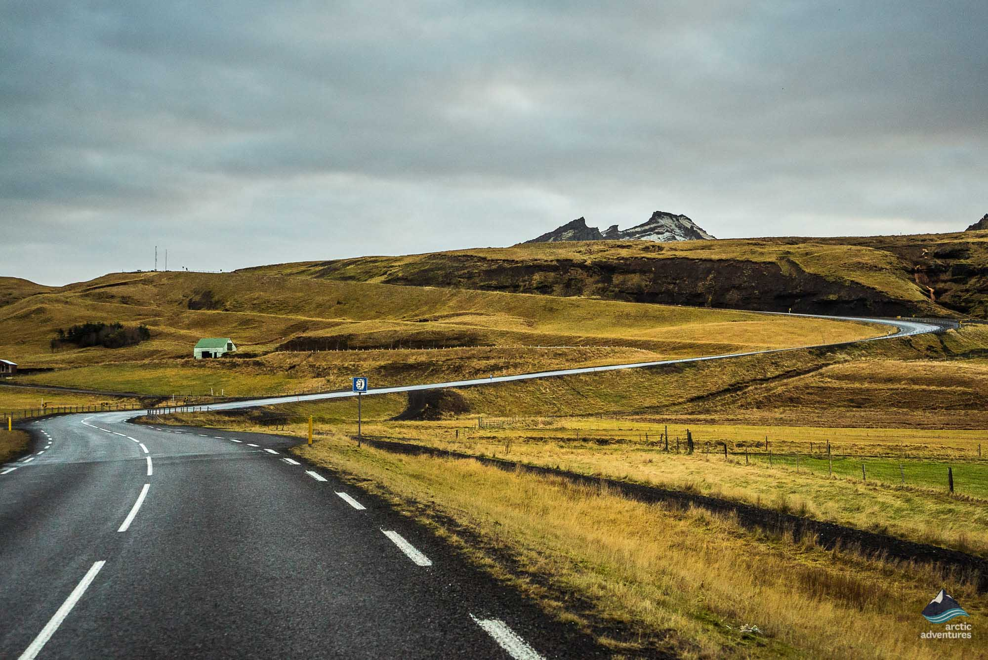 Road to South Coast of Iceland