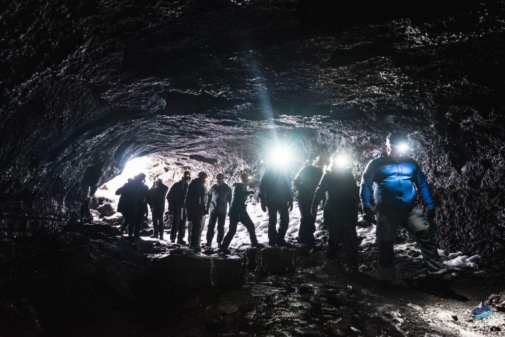 lava caving tour