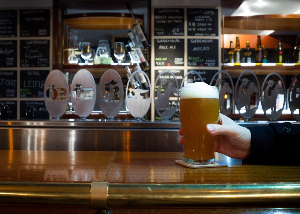 Craft beer bar Reykjavík