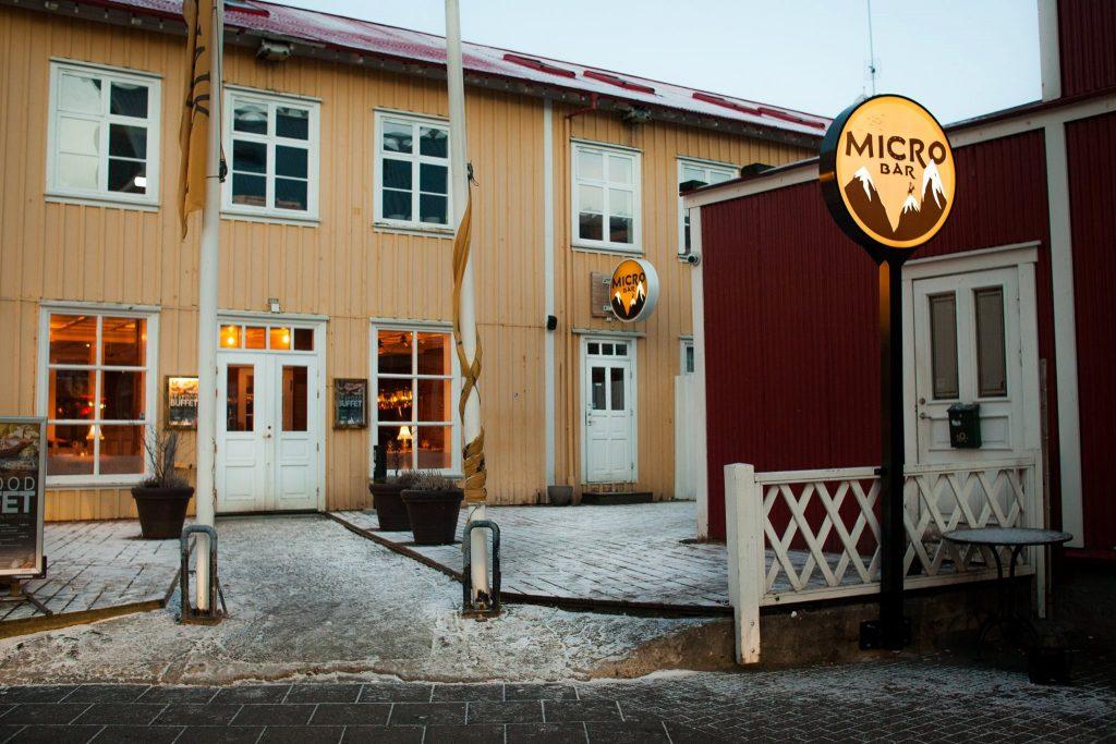 Micro beer bar Reykjavik