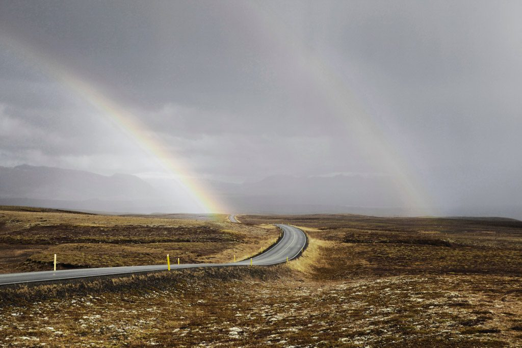 The road from Keflavik