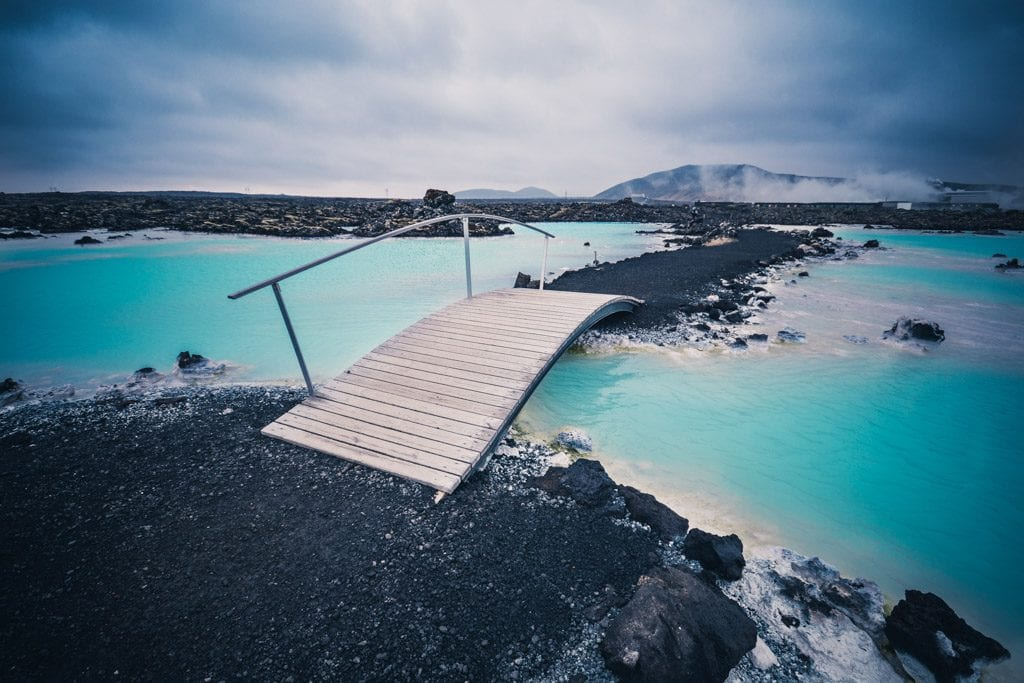 Road to Blue Lagoon Iceland