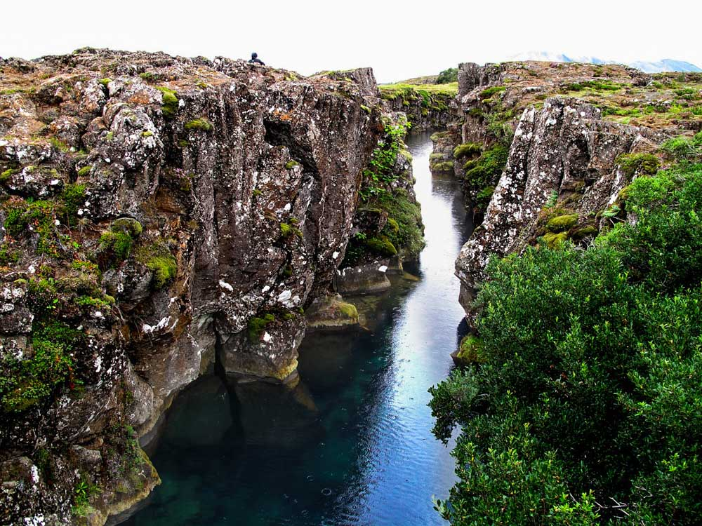 Diving and snorkeling between the tectonic plates in Iceland