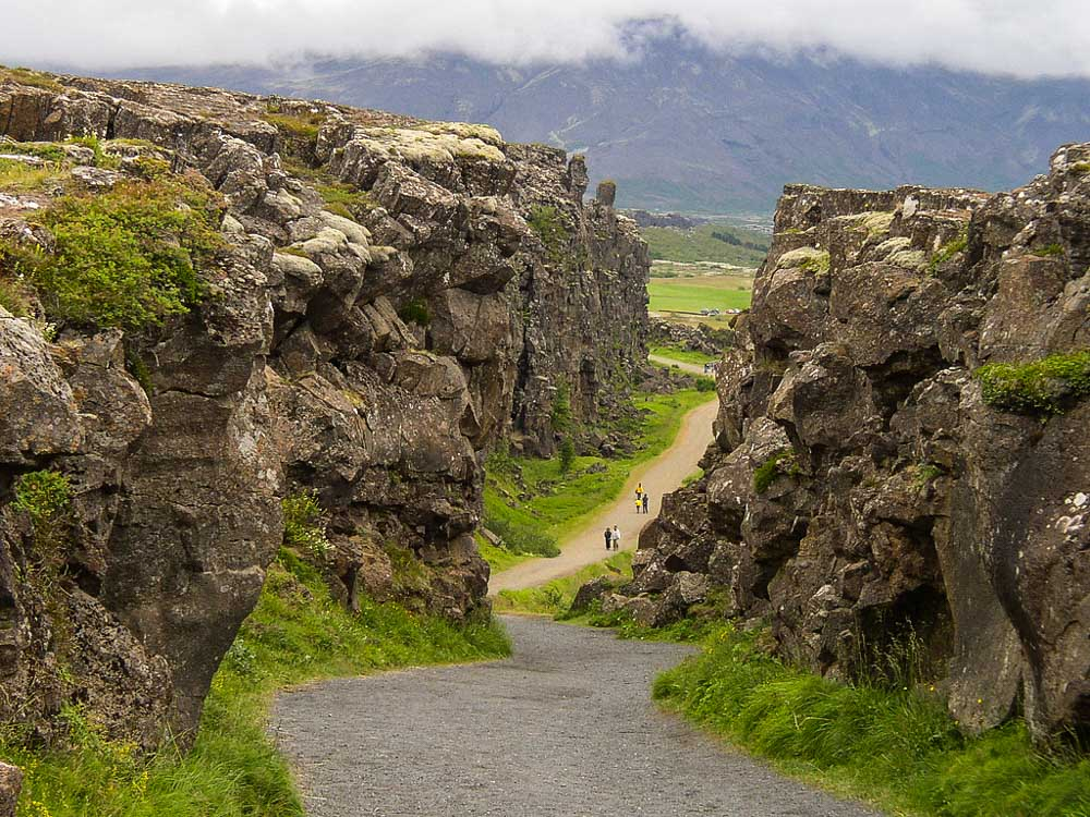 Thingvellir National Park in Iceland