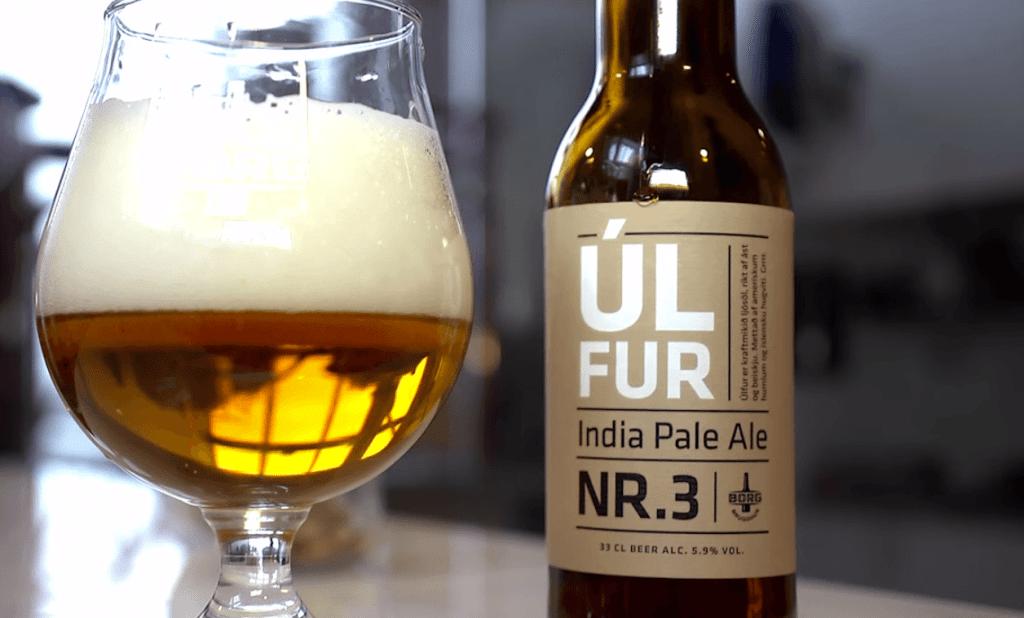 Ulfur Icelandic beer
