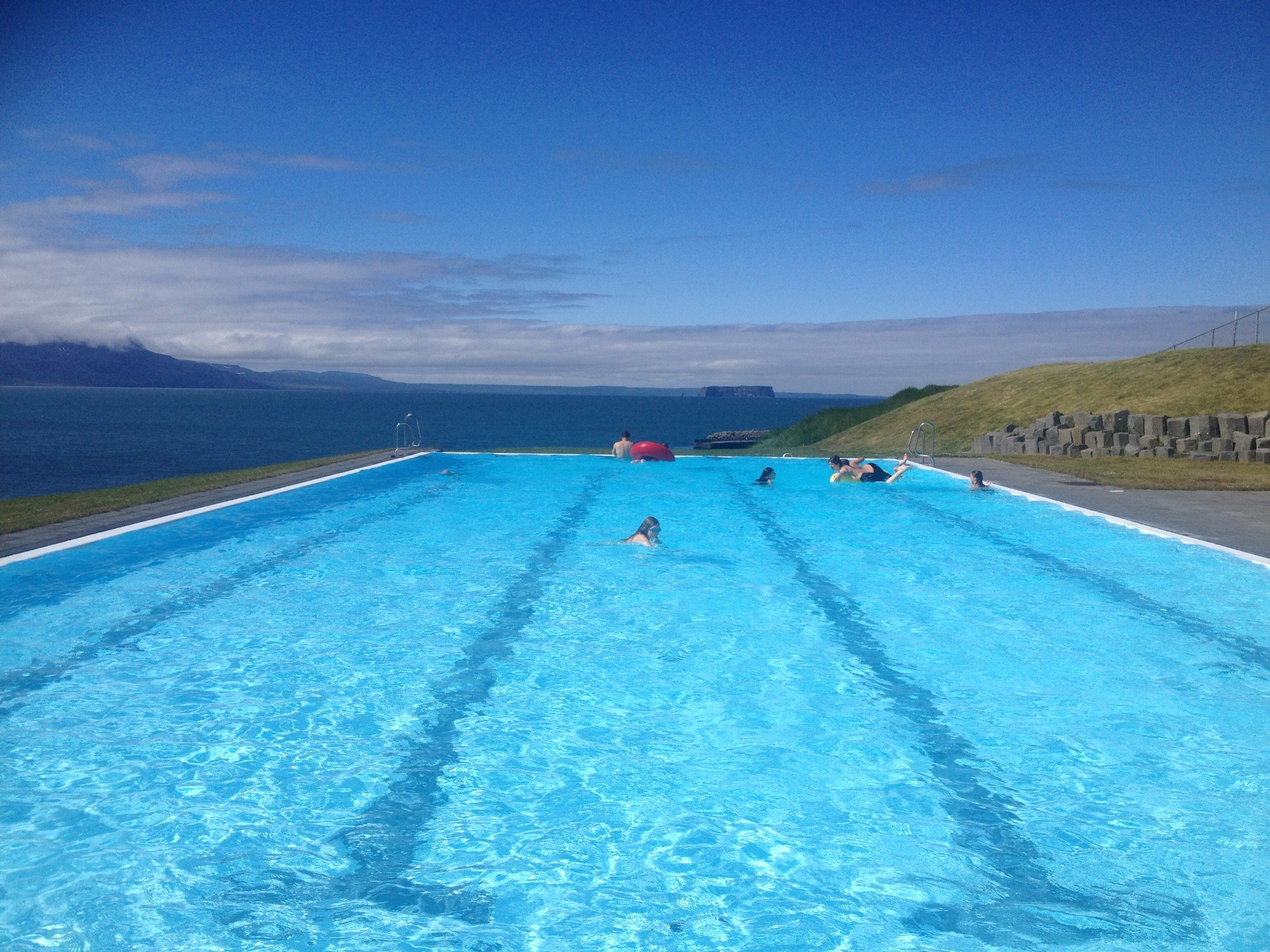 Swimming pool in Iceland