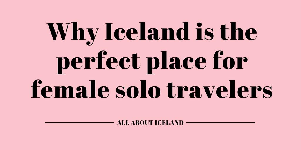 Female Solo Travel Iceland