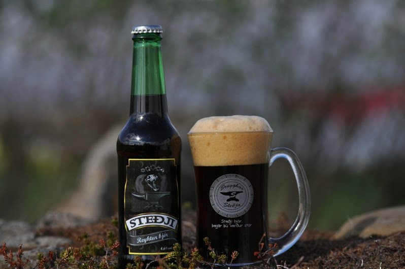 Stedji beer in Iceland