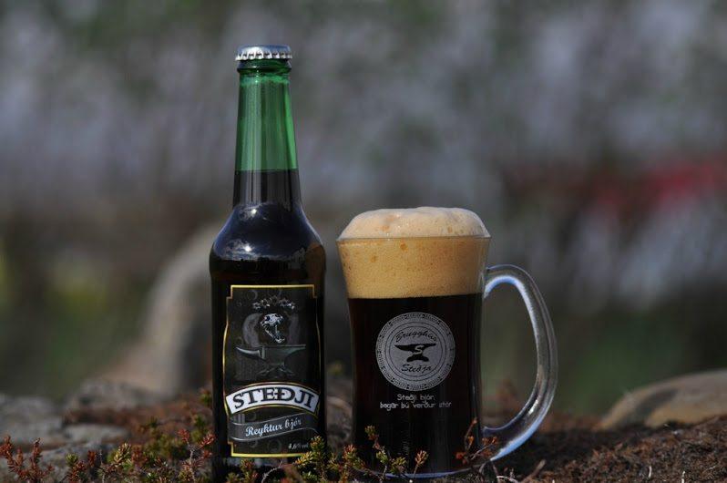 Stedji beer in Iceland