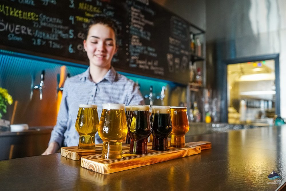 Tours to do in bad weather: Beer Tasting