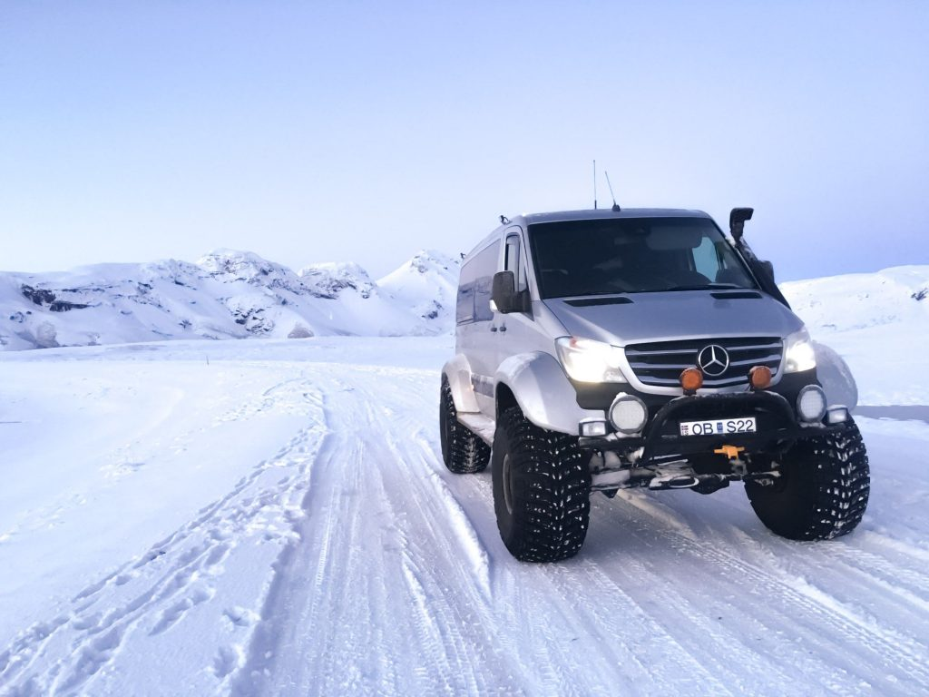 Super Jeep Ride in Iceland